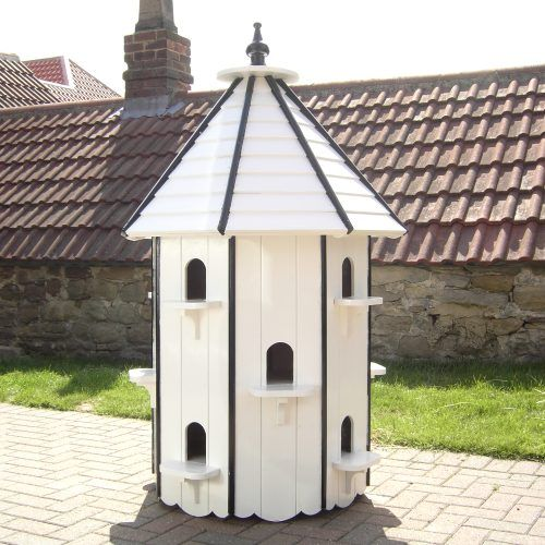 Dovecotes and dove houses for white garden doves for Dove bird house